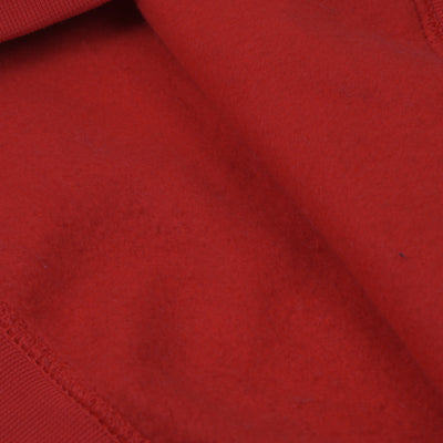 A&F Fleece Pullover Hoodie For Men-Red-BE6688