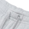 A&F Fleece Slim Fit Gathering Bottom Jogger Trouser For Men-Grey Melange-BE6497