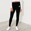 A&F Fleece Slim Fit Jogger Trouser For Ladies-Black-BE6954