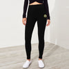 A&F Fleece Slim Fit Jogger Trouser For Ladies-Black-BE6955