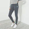 A&F Fleece Slim Fit Jogger Trouser For Ladies-Charcoal Melange-BE6586
