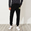 A&F Fleece Slim Fit Jogger Trouser For Men-Black-BE6900