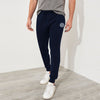A&F Fleece Slim Fit Jogger Trouser For Men-Dark Navy-BE6598