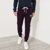 A&F Fleece Slim Fit Jogger Trouser For Men-Maroon-BE7011