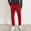 A&F Fleece Slim Fit Jogger Trouser For Men-Red-BE6883