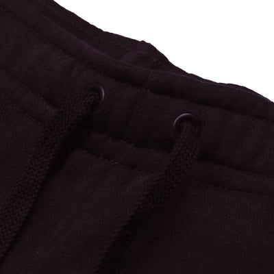 A&F Fleece Slim Fit Rib Bottom Jogger Trouser For Men-Dark Maroon-BE6635