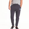 A&F Fleece Slim Fit Rib Bottom Jogger Trouser Navy & Grey Embroidery For Men-Mount Batten Pink-BE7010