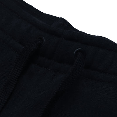 A&F Fleece Straight Fit Jogger Trouser For Men-Black-BE6471
