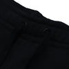 A&F Fleece Straight Fit Jogger Trouser For Men-Black-BE6901