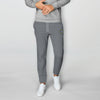 A&F Fleece Straight Fit Jogger Trouser For Men-Charcoal Melange-BE6581