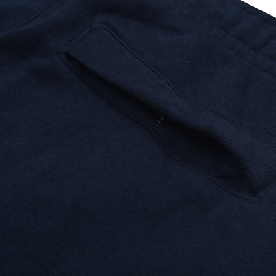 A&F Fleece Straight Fit Jogger Trouser For Men-Dark Navy-BE7466