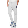 A&F Fleece Straight Fit Jogger Trouser For Men-Grey Melange-BE6500
