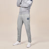 A&F Fleece Straight Fit Jogger Trouser For Men-Grey Melange-BE6600
