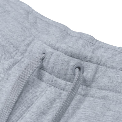 A&F Fleece Straight Fit Jogger Trouser For Men-Grey Melange-BE6604