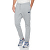 A&F Fleece Straight Fit Jogger Trouser For Men-Grey Melange-BE6904