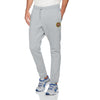 A&F Fleece Straight Fit Jogger Trouser For Men-Grey Melange-BE6991