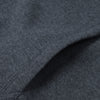 A&F Fleece Zipper Hoodie For Men-Charcoal Melange-BE6587