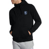 A&F Fleece Zipper Hoodie White & Navy Embroidered For Men-Black-BE7000
