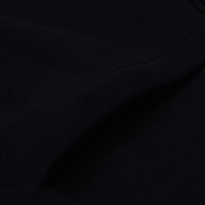 A&F Slim Fit Pullover Gathering Bottom Fleece Track Suit For Men-Black-BE6420