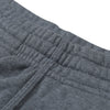 A&F Slim Fit Pullover Rib Bottom Fleece Track Suit For Men-Charcoal Melange-BE6517