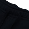 A&F Fleece Slim Fit Rib Bottom Jogger Trouser For Men-Black-BE6758