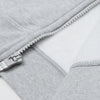 A&F Slim Fit Zipper Gathering Bottom Fleece Track Suit For Men-Grey Melange-BE6481