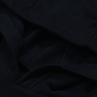 A&F Straight Fit Pullover Fleece Track Suit For Men-Black-BE6457