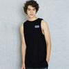 A&F Terry Fleece Sleeveless Shirt For Men-Black-BE6524