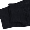 A&F Terry Fleece Slim Fit Rib Bottom Jogger Trouser For Men-Black Melange-BE6992