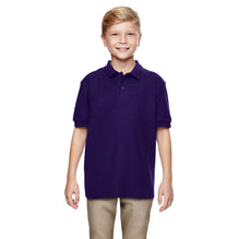 Dickies Polo Shirt For Boys-Dark Purple-BE2936