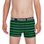 Reebok Boxer Shorts For Kids-Dark Navy With Green Stripes-SP2707