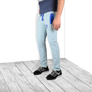 Adidas Cargo Cotton Trouser For Men-Bond Blue-BE5081