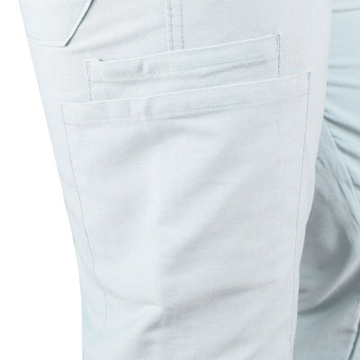 Adidas Cargo Cotton Trouser For Men-Light Bond Blue-BE5081