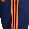 Adidas Cotton Trouser For Men-Dark Navy & Orange Stripe-BE4971