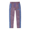 Adidas Single Jersey Regular Fit Trouser For Men-Maroon Melange with Blue Stripe-BE9441