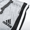 brandsego - Adidas Single Jersey Sport Suit For Kids-Grey Melange & Charcoal Melange-BE8929