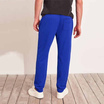 Adidas Terry Fleece Slim Fit Jogger Trouser For Men-Blue-BE10820