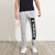 Adidas Terry Fleece Slim Fit Jogger Trouser For Men-Grey Melange-BE10819