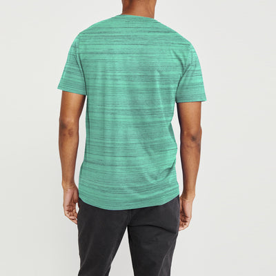 brandsego - Air Walk V Neck Single Jersey Tee Shirt For Men-BE8215