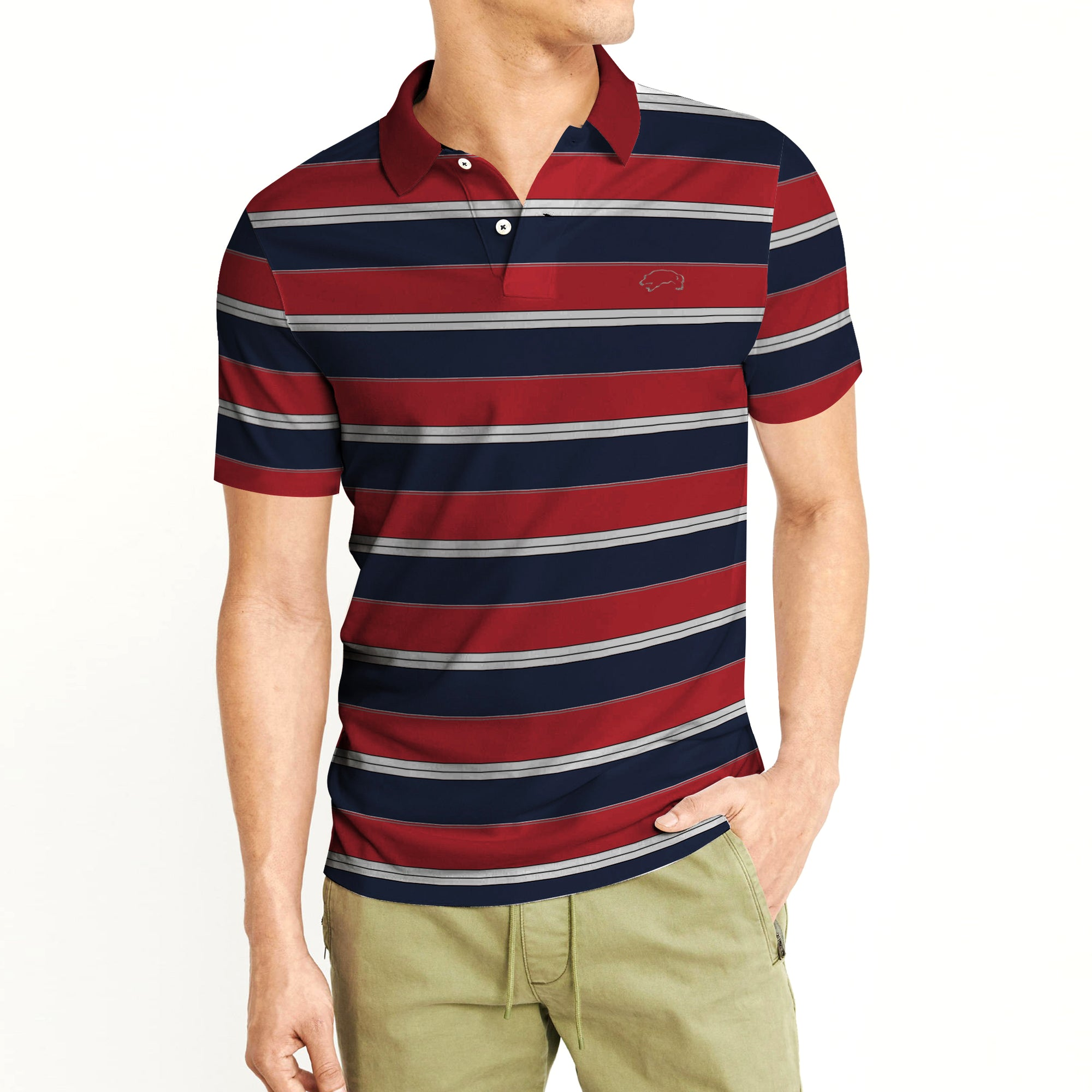 American Rag Short Sleeve Single Jersey Polo Shirt For Men Be9000