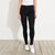 Amisu Zeen Slim Fit Stretch Denim For Ladies-Black-BE11585