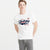 Drift King Crew Neck T Shirt For Men-White-NA6113