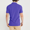 brandsego - Basic Edition P.Q Short Sleeve Polo Shirt For Men-Purple-SP022