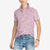 Next Single Jersey Burnout Faded Polo Shirt For Men-Light Pink-BE5157