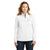 Quba & Co Mock Neck For Ladies-White-BE5733