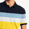 brandsego - Banana Republic Short Sleeve P.Q Polo Shirt For Men-Dark Navy with Stripe-BE8412