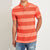 brandsego - Banana Republic Short Sleeve P.Q Polo Shirt For Men-Orange Stripe-BE8211
