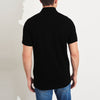 brandsego - Basic Edition P.Q Short Sleeve Polo Shirt For Men-Black-SP025