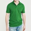 Basic Edition P.Q Short Sleeve Polo Shirt For Men-Green-BE9119