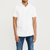 brandsego - Basic Edition P.Q Short Sleeve Polo Shirt For Men-White-BE8546